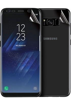 Magazabu Samsung Galaxy S8 Ön Arka Full Body Kavisli Tam Kapatan Ekran Koruyucu