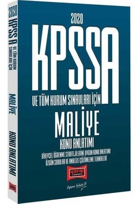 Yargı Yayınları 2020 KPSS A Grubu ve Tüm Kurum Sınavları İçin Maliye Konu Anlatımı
