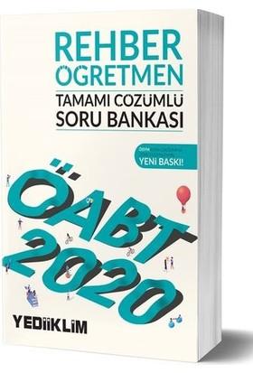 Yediiklim Yayınları 2020 KPSS ÖABT Rehber Öğretmen Tamamı Çözümlü Soru Bankası