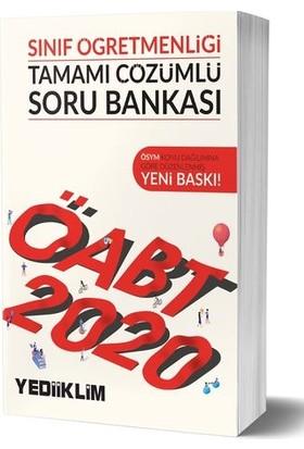 Yediiklim Yayınları 2020 KPSS ÖABT Sınıf Öğretmenliği Tamamı Çözümlü Soru Bankası