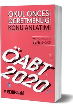 Yediiklim Yayınları 2020 KPSS ÖABT Okul Öncesi Öğretmenliği Konu Anlatımı