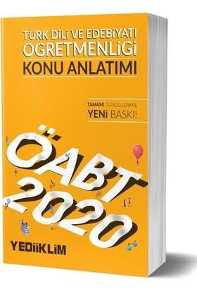 Yediiklim Yayınları 2020 KPSS ÖABT Türk Dili ve Edebiyatı Öğretmenliği Konu Anlatımı