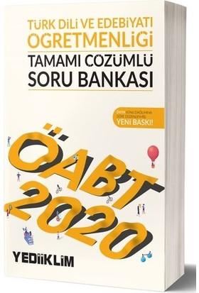 Yediiklim Yayınları 2020 KPSS ÖABT Türk Dili Ve Edebiyatı Öğretmenliği Tamamı Çözümlü Soru Bankası