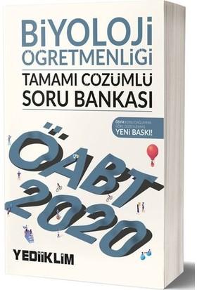 Yediiklim Yayınları 2020 KPSS ÖABT Biyoloji Öğretmenliği Tamamı Çözümlü Soru Bankası
