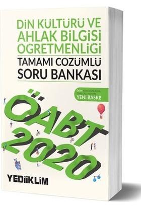 Yediiklim Yayınları 2020 KPSS ÖABT Din Kültürü Ve Ahlak Bilgisi Öğretmenliği Tamamı Çözümlü Soru Bankası