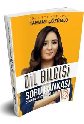 Benim Hocam Yayınları 2020 TYT-AYT-KPSS Tamamı Çözümlü Dil Bilgisi Soru Bankası