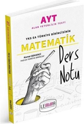 LEMMA Yayınları 2020 AYT Matematik Ders Notu