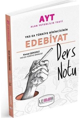 LEMMA Yayınları 2020 AYT Edebiyat Ders Notu