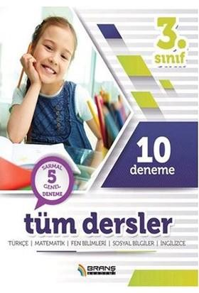 Branş Akademi Yayınları 3. Sınıf 10 Deneme Tüm Dersler