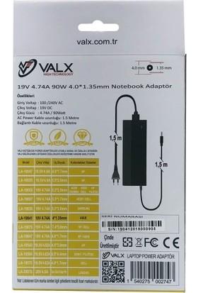Valx LA-19041 19V 4.74A 90W Laptop Adaptör