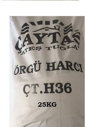 Caytaş Şamot Harcı 25 kg
