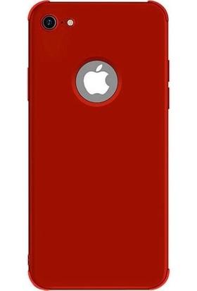 Red Original Apple iPhone 8 Telefon Kılıfı - Kırmızı