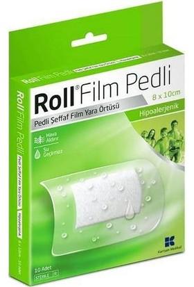 Roll Film Pedli 8 x 10 - Steril Yara Sargısı - 10 Adet