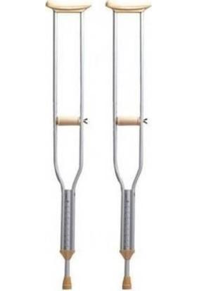 Case Koltuk Değneği Alüminyum Hafif - Pimli - Large Büyük Boy - 1 Çift