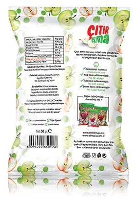 Çıtırelma Yeni Elma Cipsi 50 gr x 2'li - Elma Kurusu