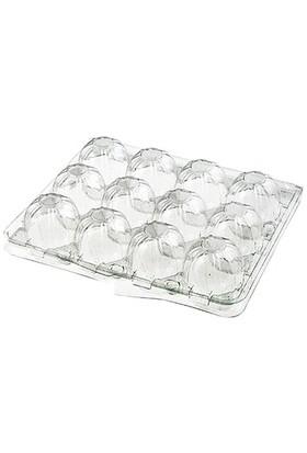 Viyol Pazarı 12 'li Plastik Bıldırcın Yumurta Viyolü 100 Adet
