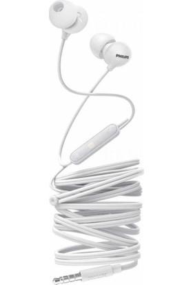 Philips Upbeat SHE2405WT Kulakiçi Mikrofonlu Kulaklık Beyaz