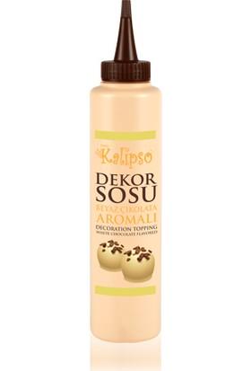 Ovalette Kalipso Beyaz Çikolata Dekor Sosu 0,75 gr