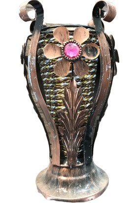Alpin Metal Vazo Saksı