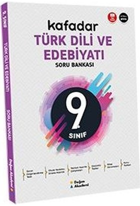 Doğan Akademi 9.sınıf Kafadar Türk Dili ve Edebiyat Soru Bankası