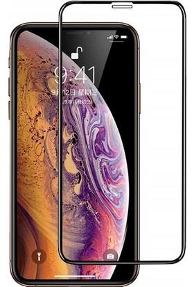 Engo Apple iPhone XS Max 5D Temperli 9H Tam Kaplama Ekran Koruyucu