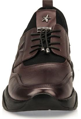 Ziya Erkek Deri Ayakkabı 9371 056 Bordo