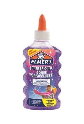 Elmer's Simli Yapıştırıcı Mor 177 ml