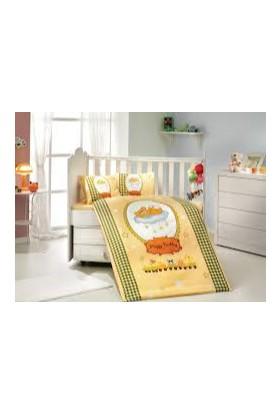 Hobby Deluxe Bebek Nevresim Takımı Bambam Sarı