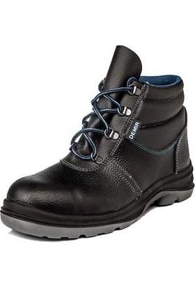 Demir Kundura Iş Ayakkabısı Işçi Botu Çelik Burunlu