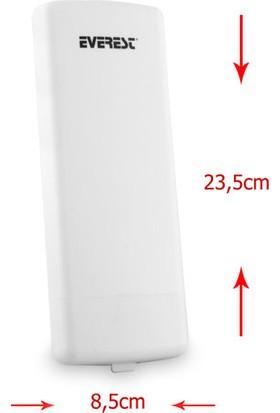 Everest Ewn-220Poe Bina Dışı Uzun Mesafe Destekli 5,8Ghz 300Mbps Repeater + Access Point Kablosuz Ro