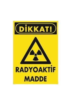 Dafne Yangın Dikkat Radyoaktif Madde