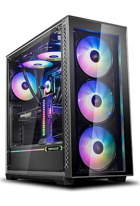 Deep Cool Matrexx70 ADD-RGB 3F 1x120mm + 3x12cm RGB Fan Midi Tower Bilgisayar Kasası (PSU Yok)