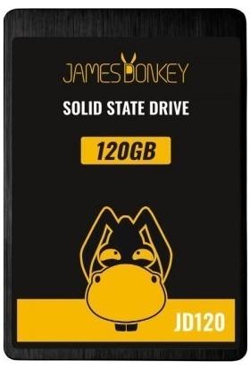 """James Donkey JD120 120GB 2.5"""" 510MB-440MB/sn SATA 3 SSD"""
