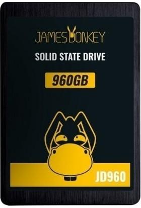 """James Donkey JD960 960GB 2.5"""" 520MB-500MB/sn SATA 3 SSD"""