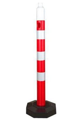 MFK Plastik MFK4065 100 cm Dubalı Kauçuk Taban Uyarı Dikme