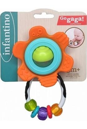 Infantino Salla-Çevir Çiçek Çıngırak