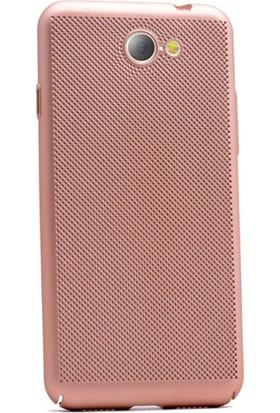 Gpack General Mobile GM6 Kılıf Delikli Rubber + Nano Ekran Koruyucu + Kalem Koruma Gold