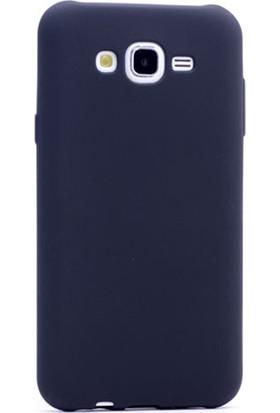 Gpack Samsung Galaxy A8 2015 Kılıf Premier Silikon Kılıf + Nano Ekran Koruyucu + Kalem Koruyucu Siyah