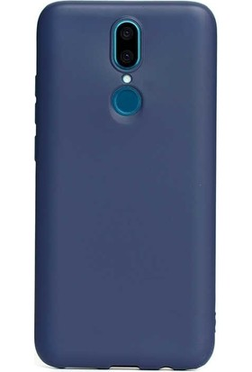 Gpack Vestel Venüs V7 Kılıf Premier Silikon Esnek Koruma + Nano Ekran Koruyucu + Kalem Lacivert