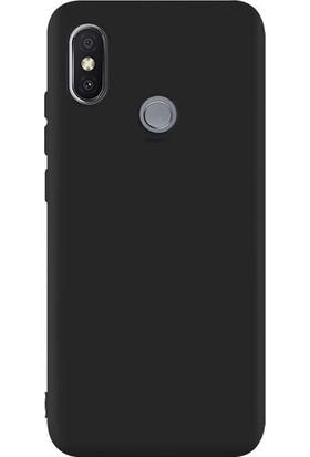 Gpack Xiaomi Mi Mix 2S Kılıf Premier Lüx Silikon + Nano Ekran Koruyucu + Kalem + Kalem Siyah
