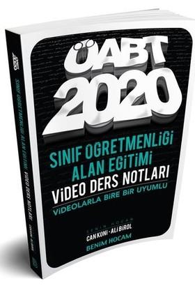 Benim Hocam Yayınları 2020 Öabt Sınıf Öğretmenliği Alan Eğitimi Video Ders Notları - Ali Birol