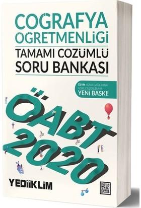 Yediiklim Yayınları KPSS ÖABT Coğrafya Öğretmenliği Tamamı Çözümlü Soru Bankası
