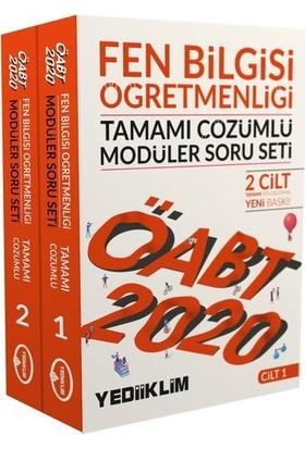 Yediiklim Yayınları 2020 KPSS ÖABT Fen Bilgisi Öğretmenliği Tamamı Çözümlü Modüler Soru Seti (2 Cilt)
