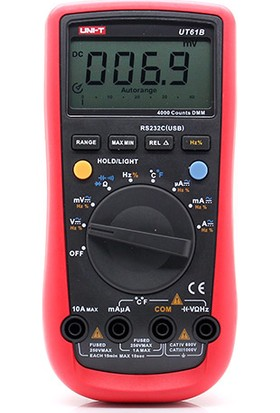 Unit UT61B Dijital Multimetre