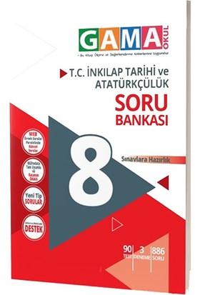 Gama Yayınları 8.Sınıf Inkilap Tarihi ve Atatürkçülük Nar Soru Bankası