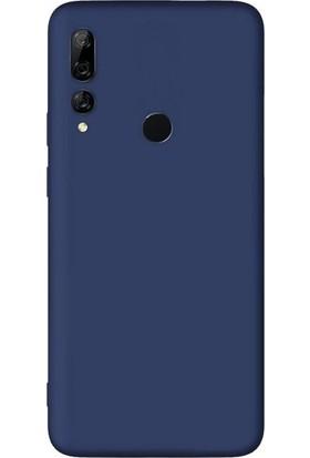 Case Street Huawei Y9 Prime 2019 Kılıf Premier Silikon Esnek Arka Koruma Lacivert