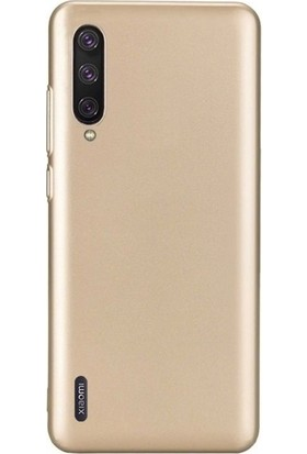 Case Street Xiaomi Mi 9 Lite Kılıf Premier Silikon Esnek Arka Koruma Gold