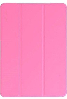 "EssLeena Samsung Kılıf Seti Galaxy Tab S5e Sm-T720/T725/T727 10.5"" Smart Kılıf Smart SlimFit Kılıf + 9H Ekran Koruyucu Cam + Kalem + Spor Bluetooth Kulaklık + Şarj Kablosu - Pembe"
