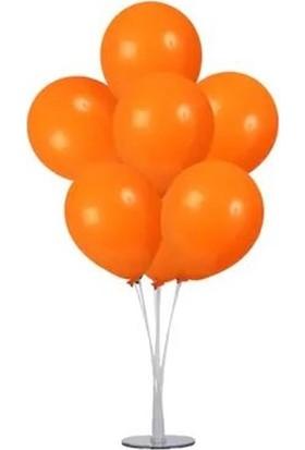 Kidspartim 7 'li Balon Demeti Turuncu Balon