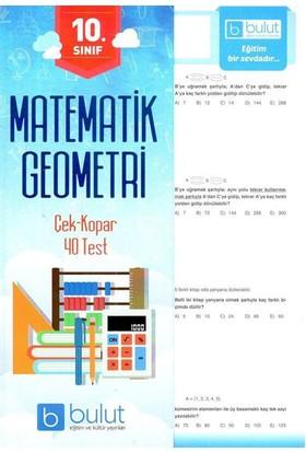 Bulut Yayınları 10. Sınıf Matematik Yaprak Test